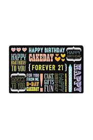 Giftcard Forever 21