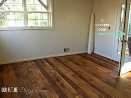 Hardwood Floor In The Kitchen 25 Best Faux Wood Flooring Trending Ideas On Pinterest