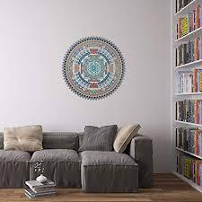 indian spiritual mandala vinyl wall art sticker on spiritual wall art uk with indian spiritual mandala vinyl wall art sticker amazon uk