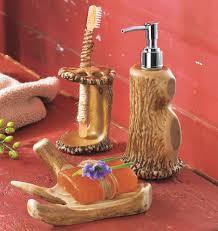Dark Red Bathroom Accessories Antler Bath Accessories 2 Antler Bath Accessories 2 Gif Hunter