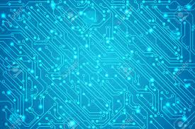 Abstract Technology Circuit Board Vector Background Royalty Free