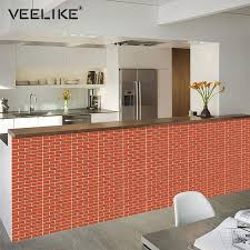 3d brick wall panels pvc self adhesive wallpaper for kitchen backsplash l and stick tile wall paper for bathroom living room wallpaper naruto