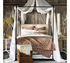 Furniture Astonishing Bedroom Design Ideas Using White Wood Canopy