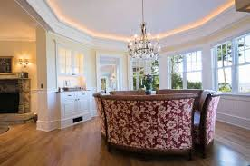 dining room lighting ideas ceiling rope. Dining Room Illuminated With Chandelier And Rope Lighting Ideas Ceiling I