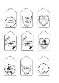 29 Images Of Black And White Christmas Labels Template Bfegy Com