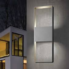 lighting frames. delighful frames light frames 21 inch up down outdoor led wall sconce by sonneman  ylighting to lighting i
