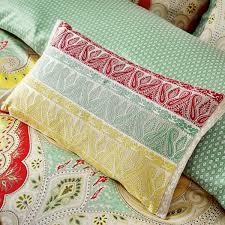 echo jaipur paisley print bedding at bedeck