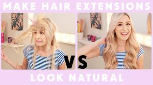 What Hair Style Should I Get how to make hair extensions look natural youtube 7120 by wearticles.com
