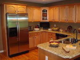 Small Picture Kitchen Paint Colors Oak Cabinets With Island Design Combination