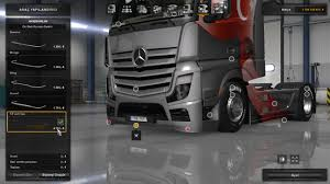 Ets Light Mercedes Mercedes Benz Actros Mp4 Tuned 1 28 Tuning Mod Euro Truck
