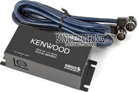 kenwood kca sr50 kcasr50 siriusconnect adapter control a kenwood kca sr50