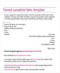 sample formal complaint letter examples in word pdf formal complaint letter sample