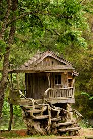Rustic Treehouse