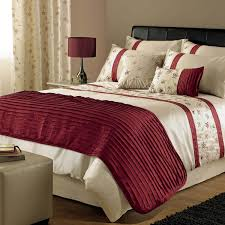 image of duvet cover red ideas