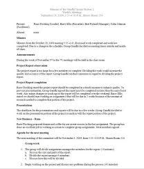 Meeting Notes Sample Template Sample Resume Templates Resume