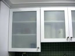 frosted glass panels cabinet doors kitchen with home depot