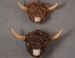 animal head wall hanging animal head