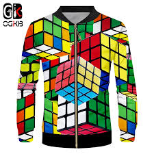 OGKB The latest 2017 fashion Rubik's cube design <b>men's 3D stereo</b> ...