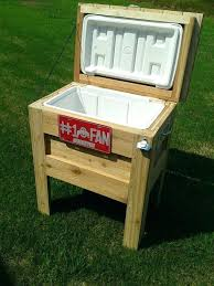 additional photos about this project an outdoor wooden cooler wood beverage
