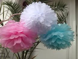 Tissue Balls Party Decorations Set Of 100 Tissue Pom Poms Party Decoration Paper Pompoms Tissue 84