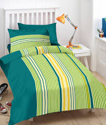 ahmedabad cotton green cotton stripes single bed sheets single bedsheet with 1 pillow cover ahmedabad cotton green cotton stripes single bed sheets