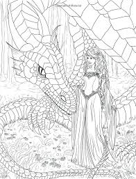 Mermaid Coloring Pages Adult At Getdrawingscom Free For Personal