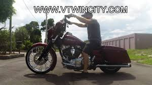 custom street glide with 23 inch front wheel ride along for sale