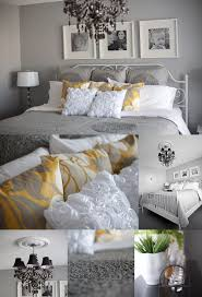 Next Bedroom Gray Yellow White Love These Colors Together My Next Bedroom