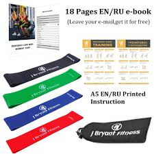 Stretch Band Loops Exercise Chart Resistance Band Set Latex Gym Strength Training Rubber Loops