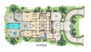 mediterranean house plans. Simple House Mediterranean Style House Plan  5 Beds 550 Baths 8001 SqFt 548 On Plans