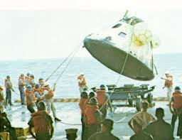 Image result for 1968 Apollo 8 return