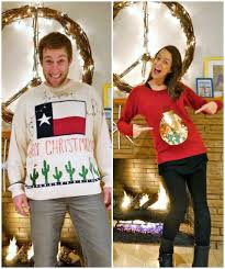 13 DIY Ugly Christmas Sweaters