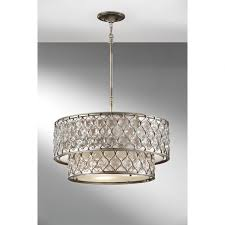 close to ceiling light drum chandeliers wayfair shade chandelier with image ideas
