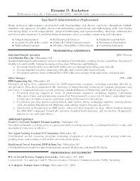 What To Put In Professional Profile On Resume Professional Profile Resume Samples Examples E For Beautiful