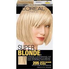 l oreal paris super blonde creme lightening kit super bleach blonde 205 com