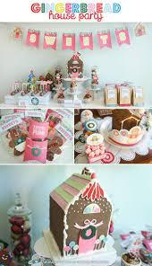 Kara's Party Ideas Gingerbread House Party Ideas Supplies Idea