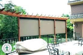 outdoor patio screens. Retractable Privacy Screens How To Customize Your Outdoor Areas With Stylish Patio . F