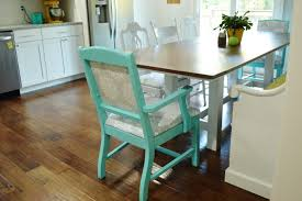 Teal Dining Room Chairs How To Reupholster Dining Room Chairs Loving Here