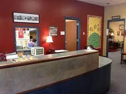 school office design school front office