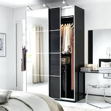 ikea pax closet wardrobe with mirrored sliding door in black brown ikea pax storage review