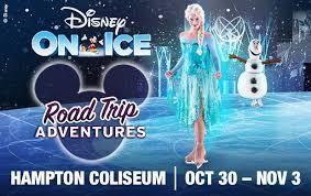 Disney On Ice Presents Road Trip Adventures Hampton Coliseum