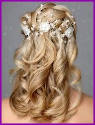 Coiffure Pour Mariage Sur Cheveux Mi Long 14124 Modele