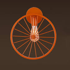 Orange Wheel Lights Amazon Com Bedside Lamp Loft Retro Wall Lamp Creative