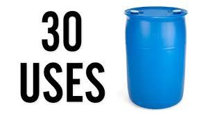 blue 55 gallon drum. Modren Drum 30 Amazing Uses For Plastic 55 Gallon Drums In Blue Drum P