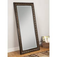 Sandberg Furniture Andorra Brown Beveled Wall Mirror