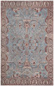 safavieh classic vintage clv303a blue red area rug