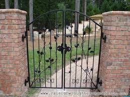 wrought iron fence gate. Raleigh Wrought Iron And Fence Co Custom Gates In With Remodel 4 Gate .