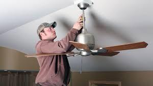 ceiling fan repair replacement done