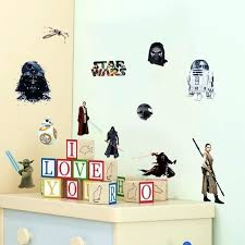 robot wall decals s star wars wall stickers star robot figure art decals for kids robot wall decals