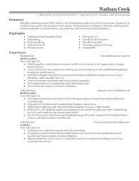 Resume For Fast Food Cashier Fast Food Cashier Resume Fast Food Cashier Resume From Restaurant